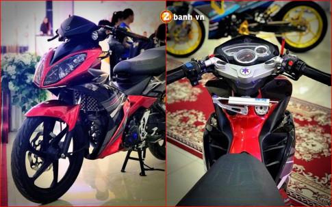 Exciter 135 do - an than hoan hao voi phong cach X1R cua biker Viet