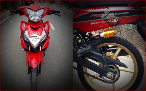 Exciter 135 do don gian day cung cap voi mam Racing boy