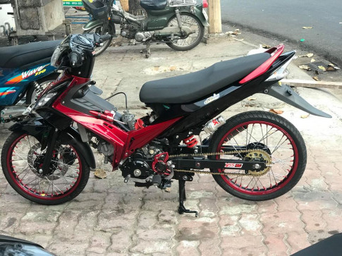 Exciter 135 do suc manh 62zz huy diet moi cung duong