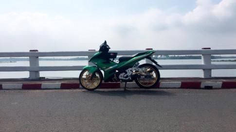 Exciter 150 do - chu ket xanh Racingboy di dong
