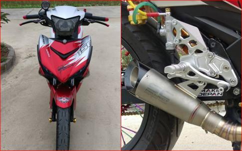 Exciter 150 độ cứng cáp với nhiều đồ chơi chất của biker Thanh Hóa