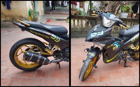 Exciter 150 do dam chat choi cua Biker Bac Giang