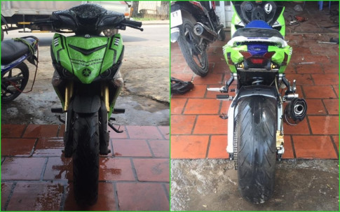 Exciter 150 do dep cuc chat voi dan chan PKL cua biker Viet