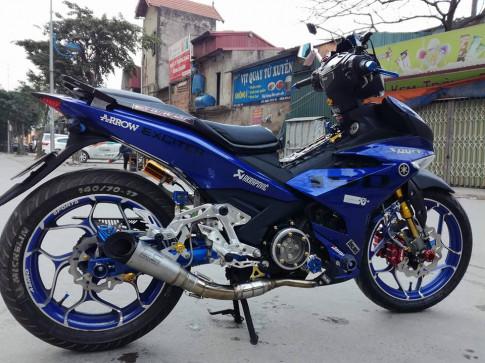 Exciter 150 do ham ho voi loat option do choi kieng cua biker Ha Noi