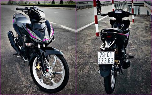 Exciter 150 do ' mem mai ' voi dan chan 2 thi cua biker Khanh Hoa