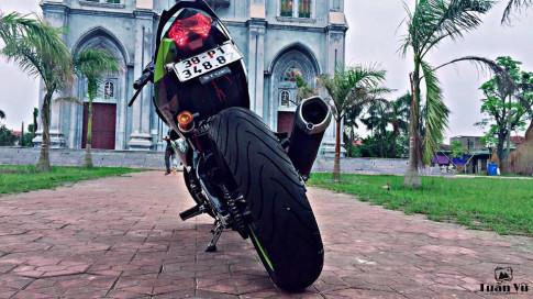 Exciter 150 độ mông to đầy hấp dẫn của biker Hà Tĩnh