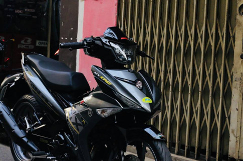 Exciter 150 do nhe nhang voi phong cach Mx-king cung dan do choi chat