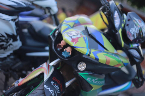 Exciter 150 độ phong cách Yamaha R1 với một ý tưởng táo bạo