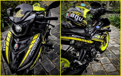 Exciter 150 do sieu chat den ' ngat ' nguoi xem cua biker Thai Binh