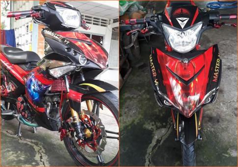 Exciter 150 do sieu pham Master Yi cua biker Tien Giang