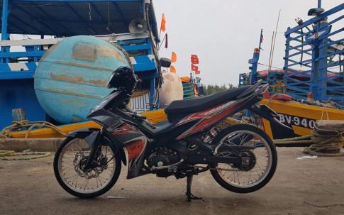 Exciter 2010 do mang net dep day quyen ru cua biker Vung Tau