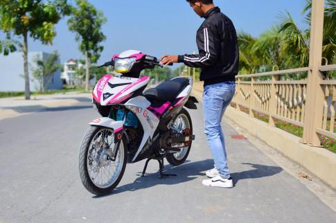 Exciter Phiên Bản 2017 Lên Bộ Tem Trùm GIBSON Cực Đẹp Của Biker Tây Ninh