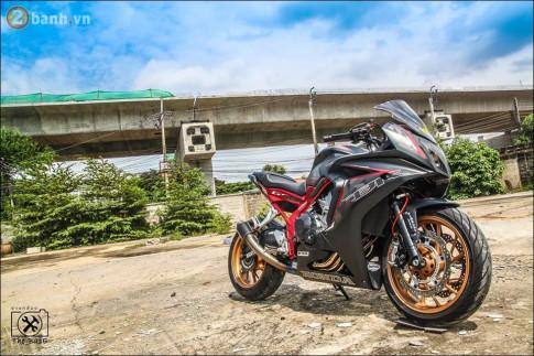 Honda CBR650F ve dep hao nhoang den tu vung dat cua nhung ban do PKL
