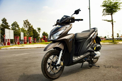 Honda Click 125 day an tuong voi dan do choi cuc chat
