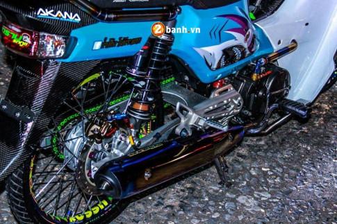 Honda Cub Fi độ ' xuất thần ' trong bóng tối với khối đồ chơi bí ẩn