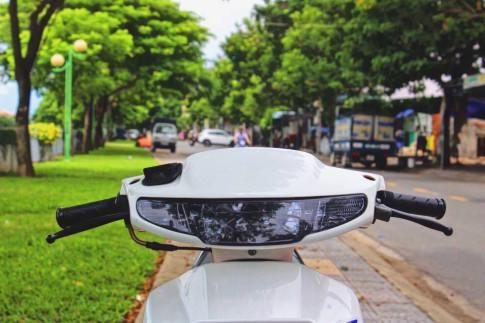 Honda Dio do nhe day chat choi cua biker Viet