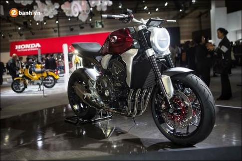 Honda ra mắt chiếc Honda Neo Sports Cafe tại Tokyo Motor Show 2017