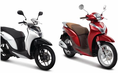 Honda SH Mode 125 2018 bổ sung thêm màu sắc mới