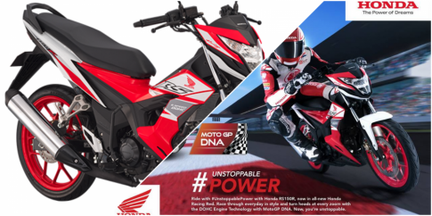 Honda Sonic 150R 2018 bo sung them phien ban Racing