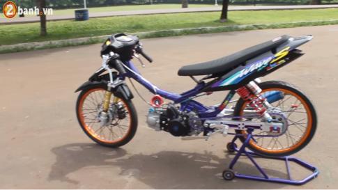 Honda Wave do Drag day chat choi cua Biker Thai Lan