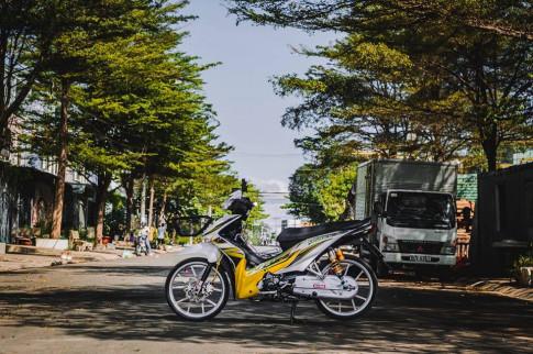 Honda Wave S 110 do kieng sieu ngau cua Biker Sai Gon