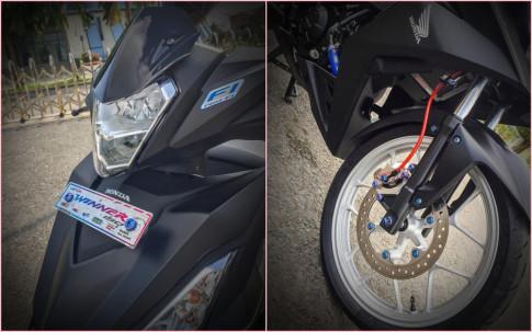 Honda Winner 150 độ nhẹ với đội hình ốc Proti cực chuẩn