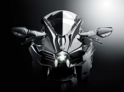 Kawasaki H2 Supercharged thu nghiem voi toc do dang ne