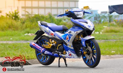 KH Hưng Kuppy | Bản Độ Exciter 150 Xanh GP Doremon Siêu Cute
