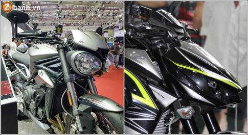 Lựa chọn nào giữa Triumph Street Triple RS và Kawasaki Z1000 với 430 triệu đồng