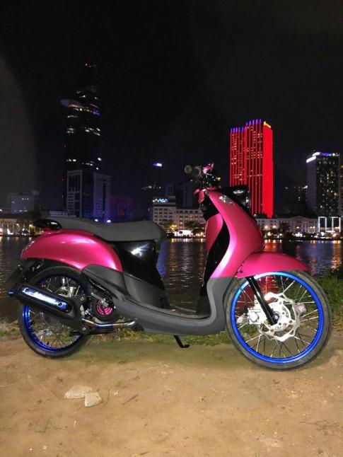 Mio Classico duoc do lai theo phong cach Mio Fino Thailand cua Biker Viet