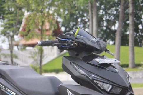 Ngắm nhìn Honda Click độ vừa hoàn thành 80% ý tưởng