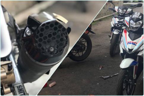 Pô độ kiểu độc lạ cho Winner 150 của biker nước bạn