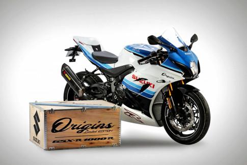 Ra mắt Suzuki GSX-R1000R Origins Limited Edition 'hồi sinh' một huyền thoại