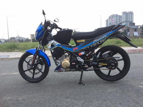Raider 150 ban do ca tinh the hien phong cach cua Biker Viet.
