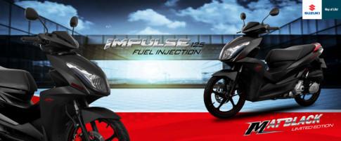 Ro len tin don Suzuki Impulse se duoc nang cap len 150cc