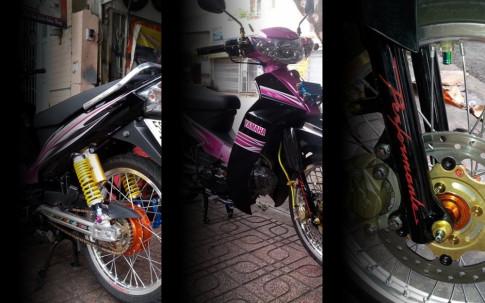 Sirius 110 độ thêm nhiều đồ chơi của Biker trẻ đất Việt