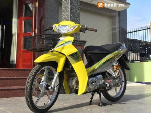 Sirius 110 do vang ruc cung nhieu do choi an tuong cua Biker Vung Tau