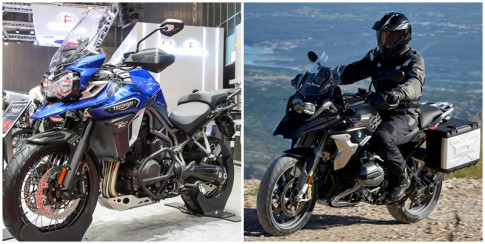 So sánh phân khúc Adventure giữa Triumph Tiger Explorer vs BMW R 1200 GS Adventure