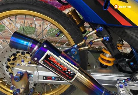 Sonic 125 do chat lu den ' ma nhin khong ra ' cua biker nuoc ban