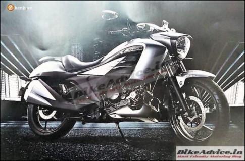 Suzuki Intruder 150 -'Cruiser hien dai' ro ri hinh anh, gia du kien 37 trieu dong