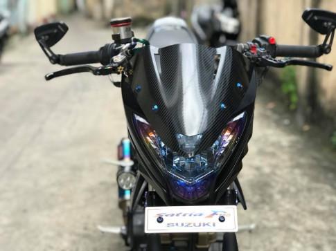 Suzuki Raider 150 do nhe day thu hut cua biker Viet