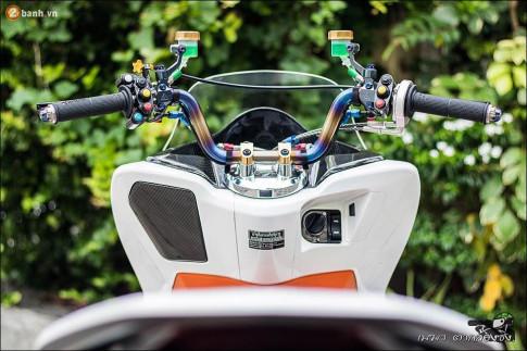 Tan chảy ánh nhìn qua bản độ PCX 150 Thailand