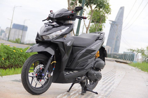 Vario 150 ban do voi nhieu do choi khung tu tin khoe sac cua biker Viet