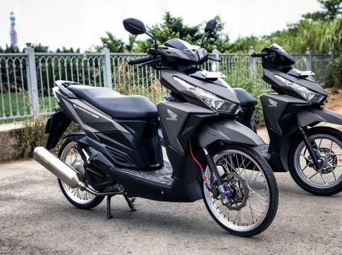 Vario 150 do sap san voi loat do choi chat cua Biker Vinh Long