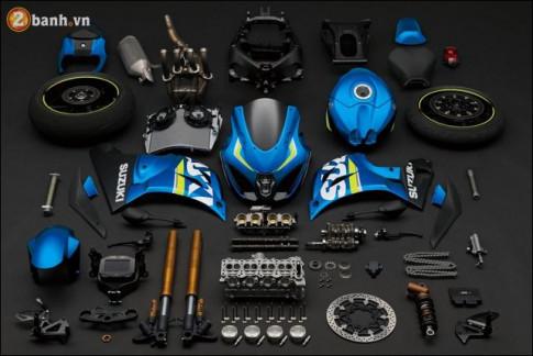 Vi sao Suzuki GSX-R1000 duoc danh gia la Sportbike tot nhat nam 2017 ?