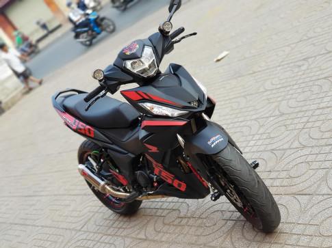 Winner 150 do chat ' ngat ngay ' voi gap KTM 390 cua biker Viet
