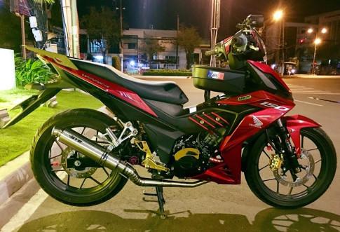 Winner 150 do dep diu dang trong man dem cua biker Soc Trang
