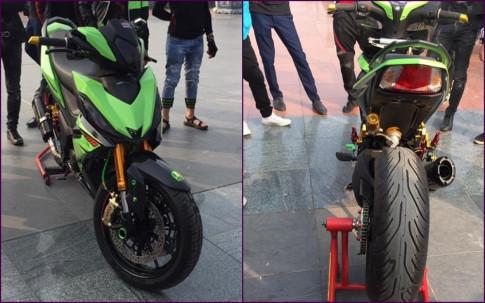 Winner 150 độ full option Ducati 1199 hầm hố của biker Việt