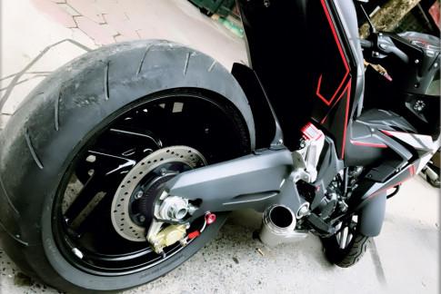 Winner 150 do sieu khung voi dan gap thua huong tu Ducati 899