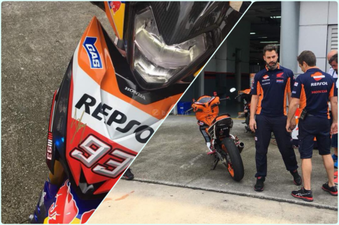 Winner 150 Repsol do 1 gap bat ngo xuat hien tai duong dua MotoGP 2018